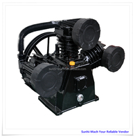 SH-3080industrial cast iron V W T cylinder piston air pump
