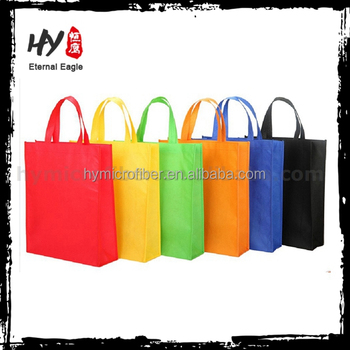 Laundry pp non woven laminated tote bag with high quality