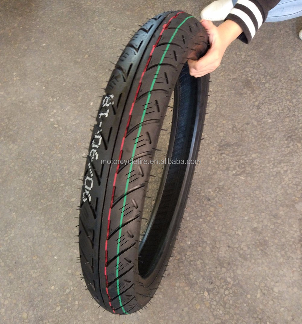 Wholesale China factory direct tubeless motorcycle tire 90/90-18