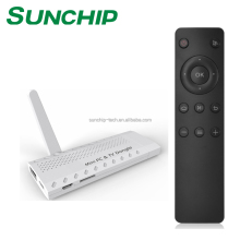 Sunchip supply wifi display miracast smart tv HDM I dongle stick support DLNA ipush airplay android tv box