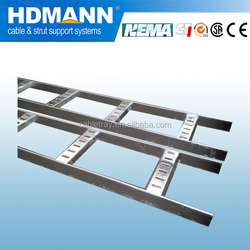 Hot Dip Galvanized Steel Cable Ladder With Covers