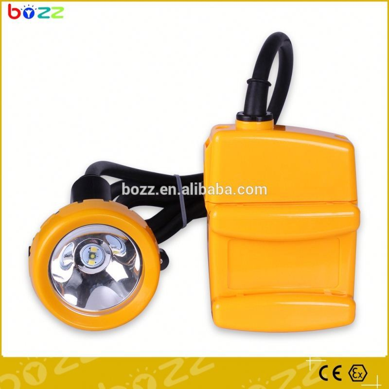 led cordless rechargeable safety led coal compact miners cap lamp
