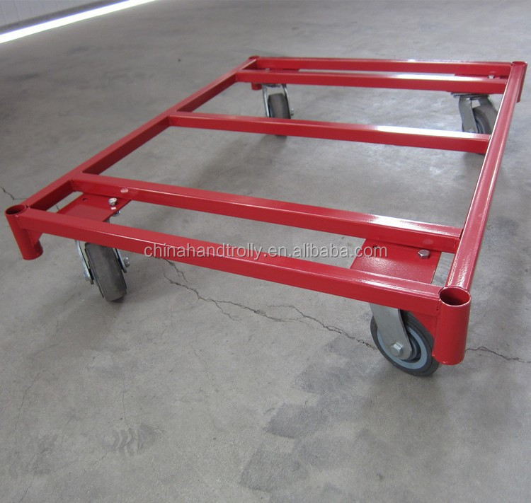 TC1000 heavy duty foldable two handle hand pull wagon hand trolley