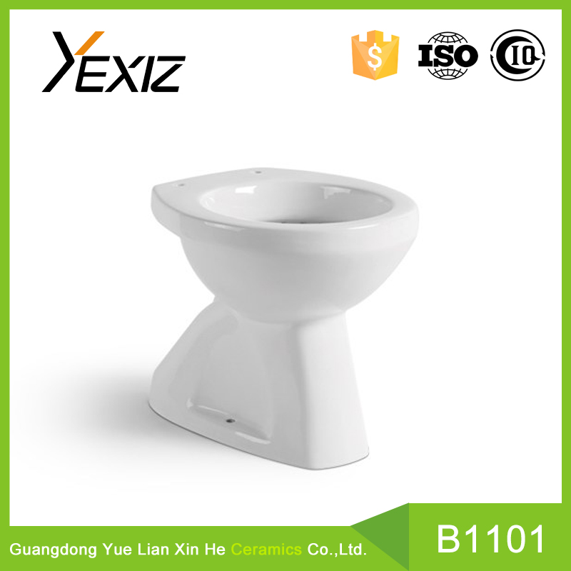 B1101 bathroom sanitary washdown one pice toilet without water tank