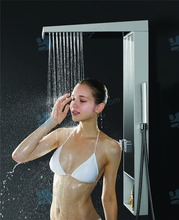 Thermostatic shower set, Double function shower column, multi-control shower panel S051