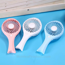 Mermaid Mini Fan - Portable USB Rechargeable 2 hours working time Fish Baby hand-held Fan
