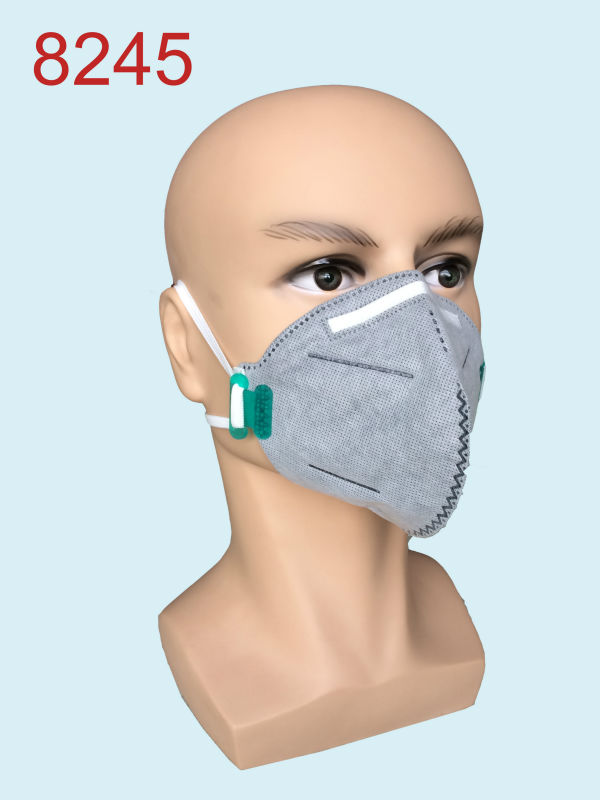 High Quality Activated Gas Filter Dust Mask Disposable