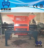 Rubber cutting machine / plastic crushing machine / tire shredder