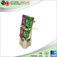 POP custom floor display stand for candy promotion