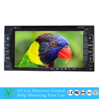 cheap portable dvd player, 12V car radio dvd player, gps navigation system optional with mp5+BT XY-D8695