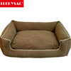 Plush Animal Shaped Pet Bed Quilted Pet Outdoor Dog Bed