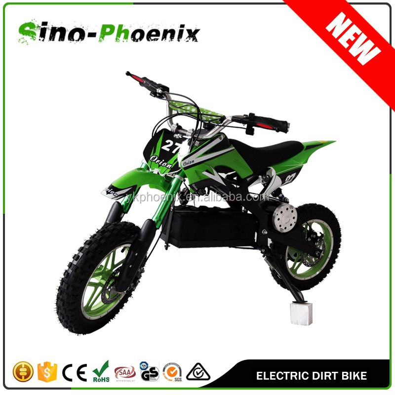 Special design widely 36V 500W cheap used dirt bikes with CE certificates ( PN-DB500E )