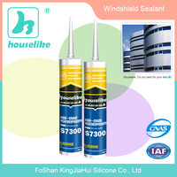 Perfect Quality neutral window silicone adhesive / windshield sealant
