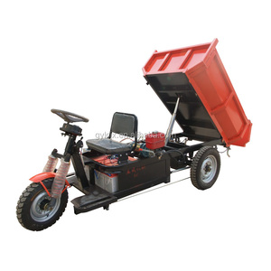 Licheng trade assurance stable and durable battery electric cormidi mini dumper with hydraulic pump