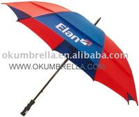 promotional double layers golf umbrella