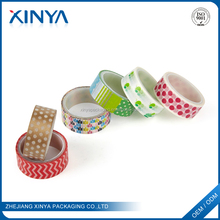 XINYA Bulk Items Colorful Tearable Decorative Custom Printed Waterproof Masking Tape