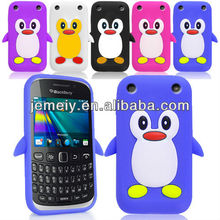 Genuine Penguin Soft Silicone Case For blackberry curve 9320