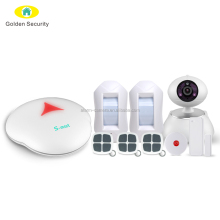 Low price and App control wireless gsm alarm system with 2 SMS anf 5 call phone No support