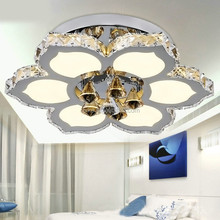 LED modern minimalist K9 Crystal ceiling Lights living room light