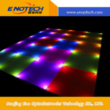 Alibaba express Hot sale p7 Super vivid effect outdoor led dance floor for broadcasting