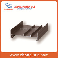 High Class Eletrophoresis Anodizing Aluminum Profiles