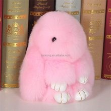 fashion cute cartoon rabbit doll plush toy rabbit keychain custom keychain rabbit fur keychain