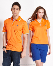 High quality colorful short sleeve casual wear simple polo shirt