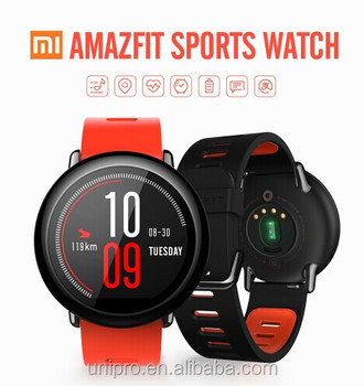 International Huami AMAZFIT SmartWatch GPS Sports Smart Watch Bluetooth WiFi Dual 512MB/4GB Heart Rate Monitor for IOS