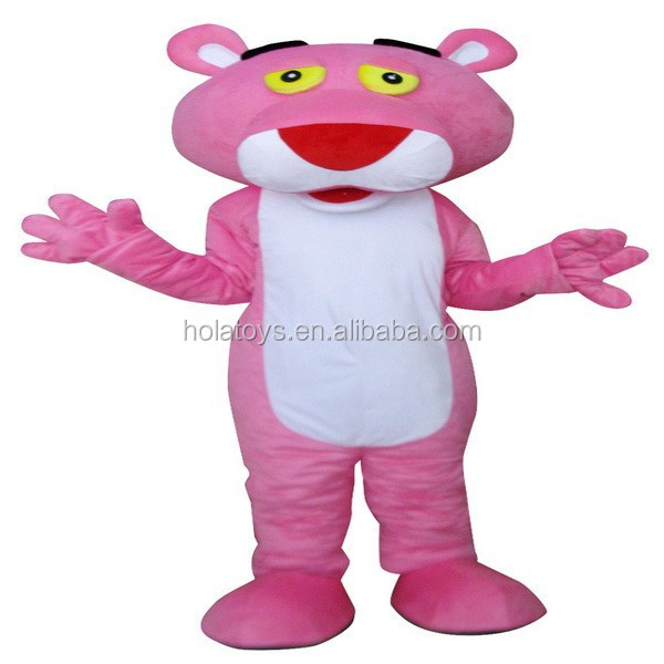 Hola the pink panther costume/mascot costumes