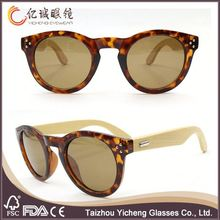 2016 best quality hot sales recycled skateboard wood sunglasses bamboo