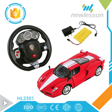 scale 1:12 racing sport game cool steering wheel remote control car for kids