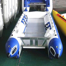 NB-AB-330-003 Aluminum Rigid Fiberglass inflatable boat for competition
