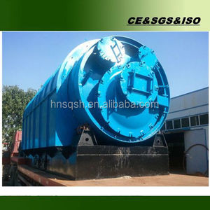 PET bottle plastic bag waste plastic recycling machine for crude oil