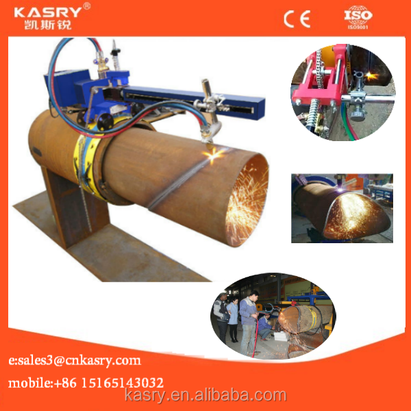 Pipeline Industries portable cnc flame cutter //gas profile cutting machine//flame cutting machine to cut steel pipes
