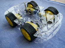 4WD Smart Robot Car Chassis Kits for arduino with Speed Encoder