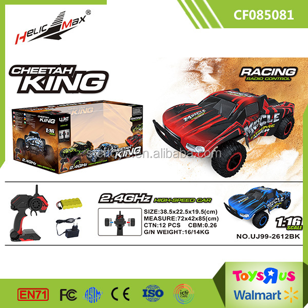 Cheetan King 1 : 16 2.4Ghz 4 WD Remote Truck Off road RC Toy Hobby