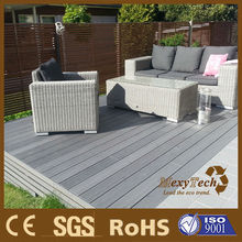 MexyTech Color Mix white wood plastic composite decking