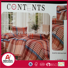 sales promotion OEM Available Empty fabric 100%polyester microfiber comforter se