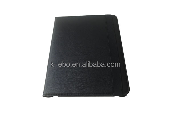 leather cover with stand for iPad 3