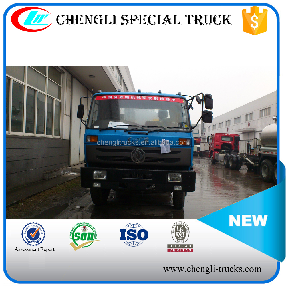 shock price dongfeng 4*2 190 hp 10000 liter 10m3 10tons Asphalt Spray Truck