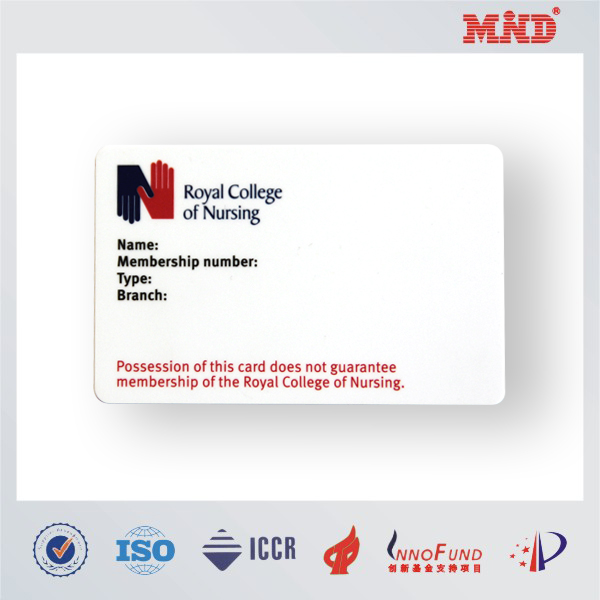 MDC1072 hard plastic business card