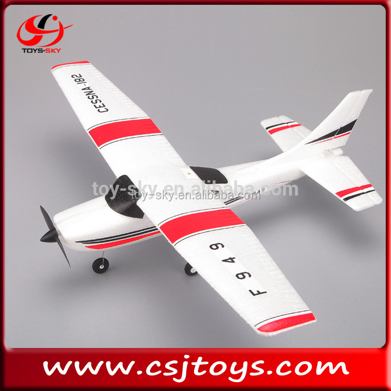 NEW Skymaster Model 2.4G 3CH Remote Control Helicopter Model Glider plane Original WLtoys F949