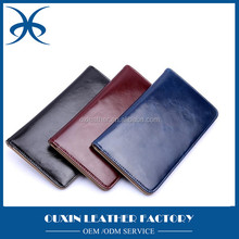 China factory direct wholesale engraved LOGO human passport holder, leather passport cards wallet holder