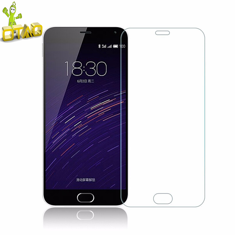 OTAO 2.5D Tempered Glass Film For M3E MX6 Pro 6 7 <strong>U10</strong> U20 Premium Real Screen Protector protective For Meizu M3 Note M5 M5s