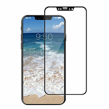 3D coverage full screen cover tempered glass screen protector for iphone x