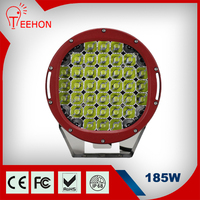 Three Color Super Bright 185 watt led driving light 4wd 185W Work Led Light
