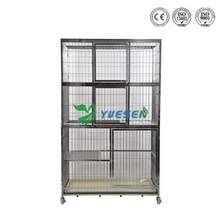 Welded Mesh Type Pet Large Stainless Steel Dog Kennel Cage For Sale