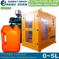 Blow molding machine make gallons