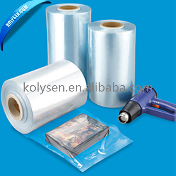 High quality Transparent pvc shrink film for ID card packing