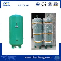 Used Air Compressor Tank , Air Receiver Tank 30 Bar High Pressure Air Storage Tank